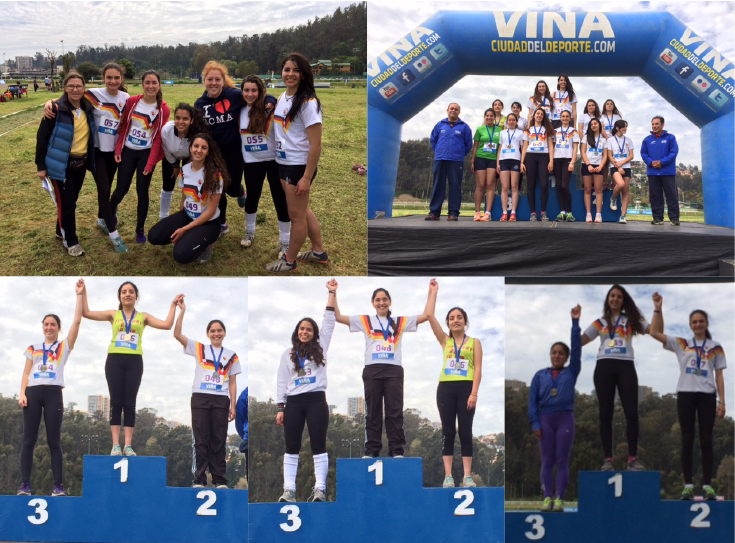 mujeres atletismo
