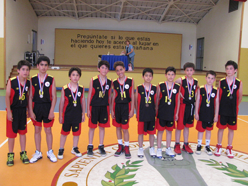 básquetbol 2 preparatoria