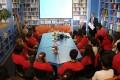 Schüler/Innen im Gespräch mit Diplomaten der EU