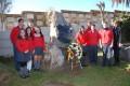 Der Deutsche Sportverein weihte ein altes Monument in Valparaiso wieder ein
