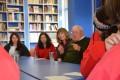 Alumnos compartieron con sobreviviente de época Nazi