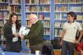 Schüler der Deutschen Schule Valparaíso trafen sich mit Überlebendem der NS-Zeit