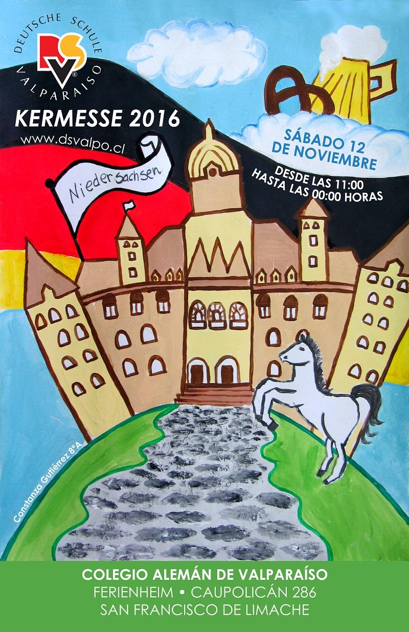 Kermesse 2016 Colegio Aleman De Valparaiso