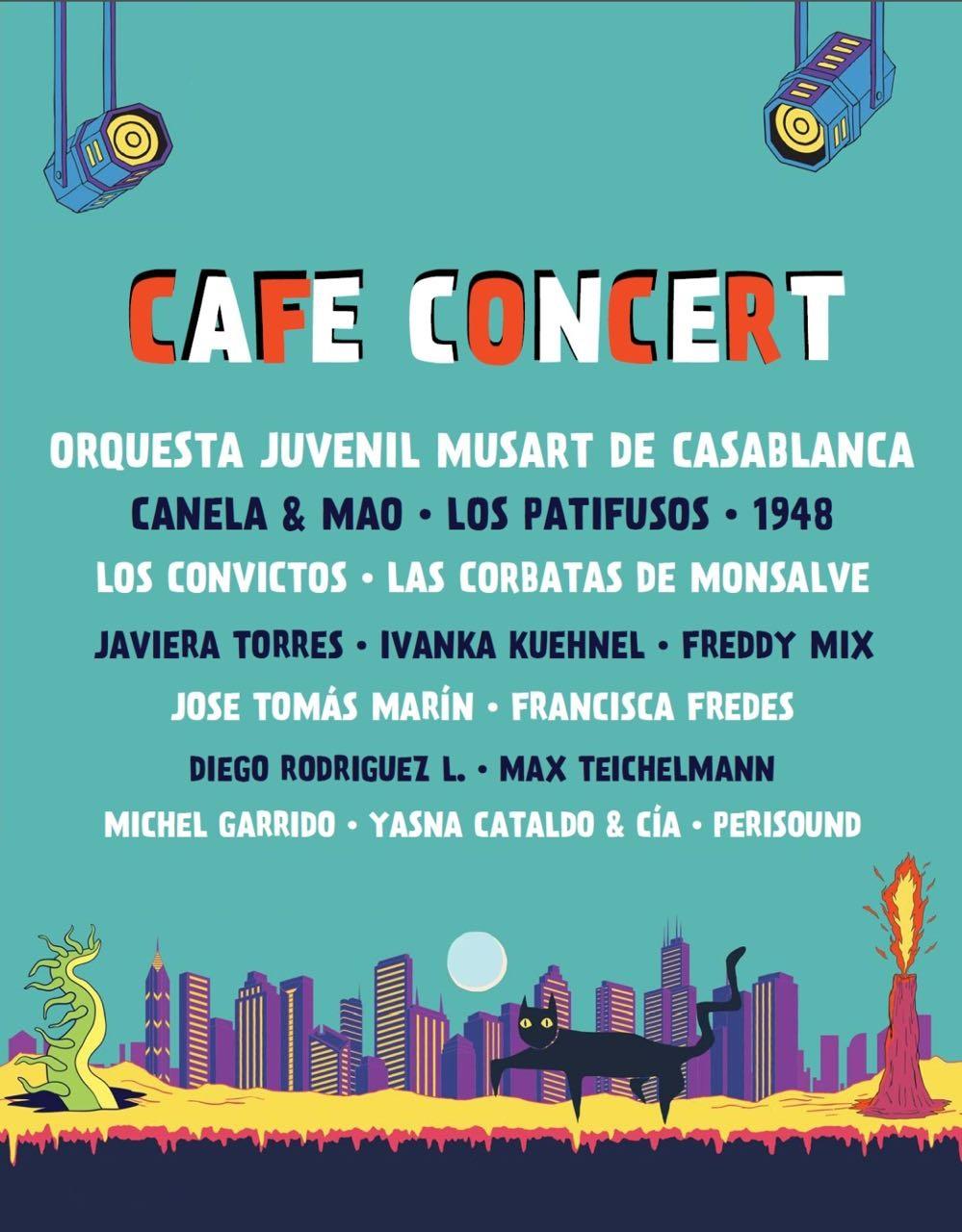 Line Up Café Concert